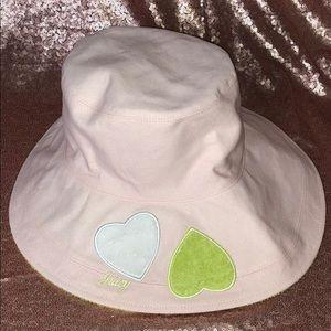 NWOT Juicy Couture reversible sun hat